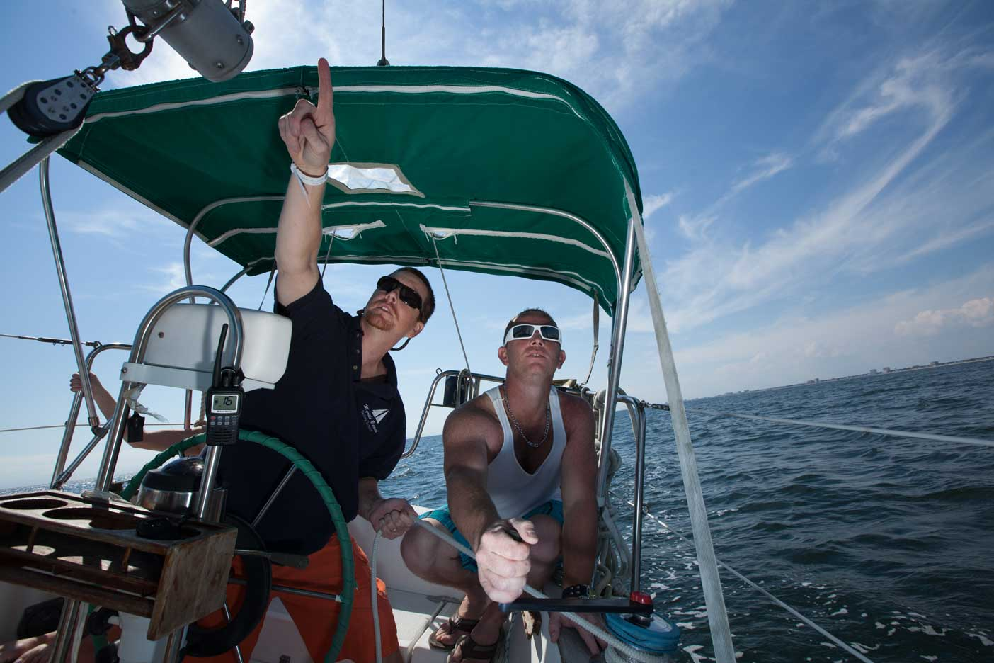 teaching ASA Sailing Lessons