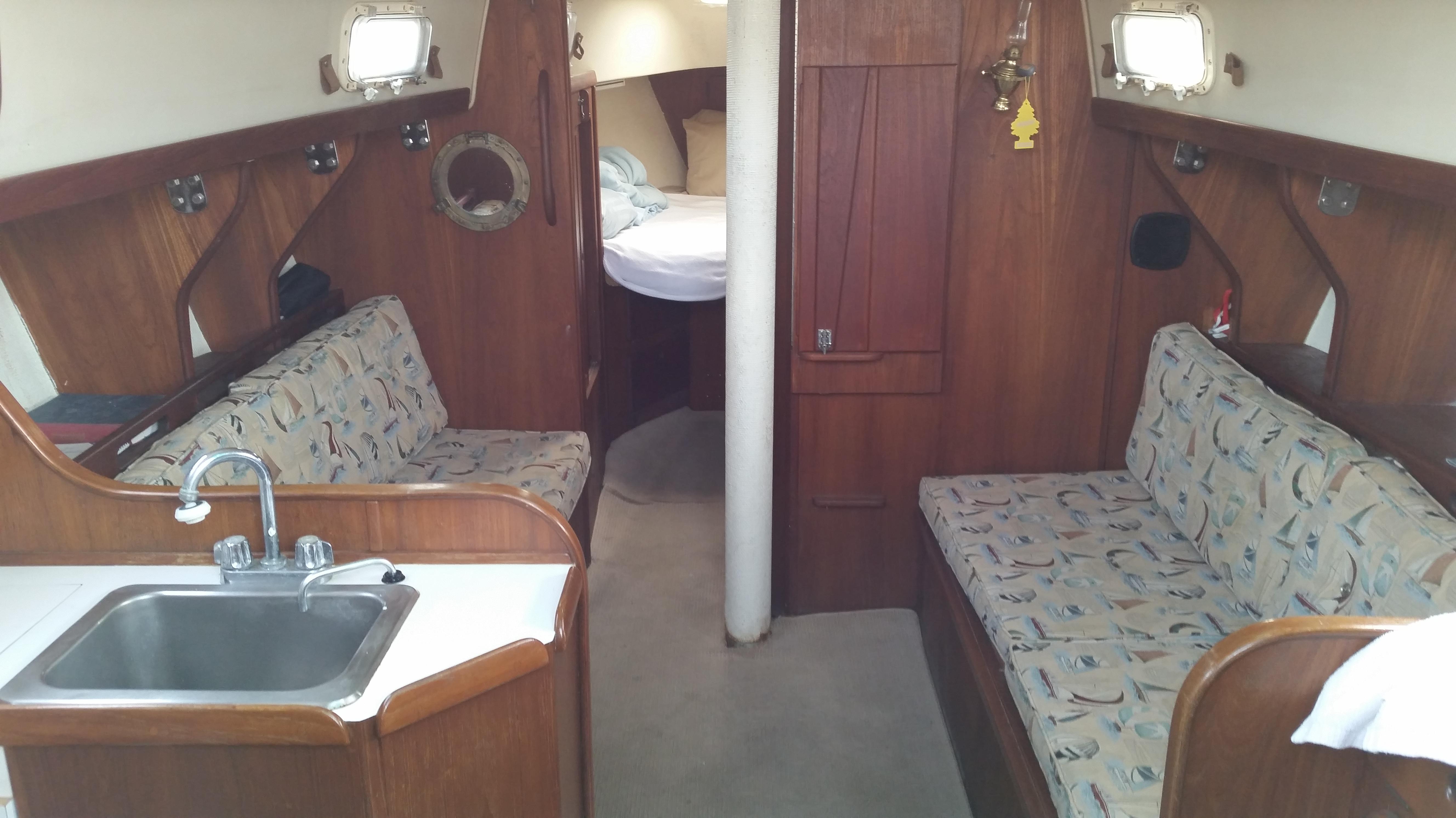 morgan sailboat interior asa sailing lessons
